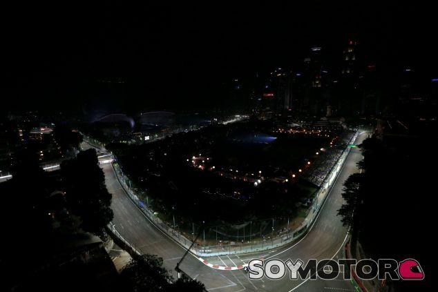 Sauber sumó un punto el año pasado en Singapur - LaF1