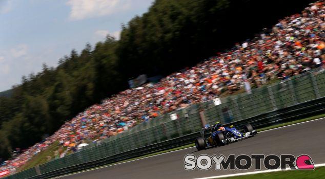 Felipe Nasr en la clasificación del sábado en Spa-Francorchamps - LaF1es