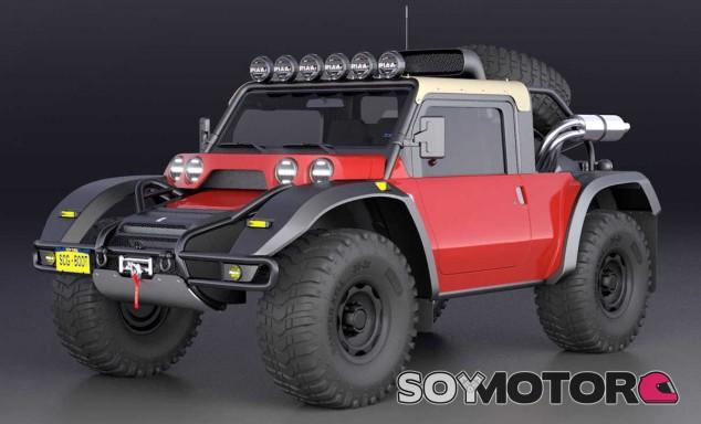 Esta es la versión de dos puertas del SCG Boot - SoyMotor