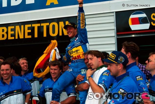 Adelaida 1994: hace 25 años comenzaba la leyenda Schumacher - SoyMotor.com