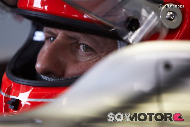 Michael Schumacher en una fotografía de archivo de 2011 - LaF1