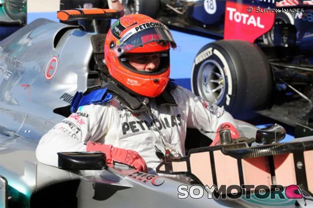 Schumacher está consciente, según una empleada del hospital en el que está - SoyMotor.com