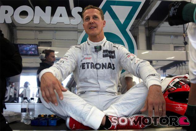 Michael Schumacher en una imagen de 2012, cuando era piloto de Mercedes - LaF1