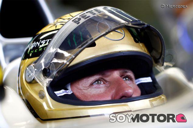 Michael Schumacher en 2011 - LaF1