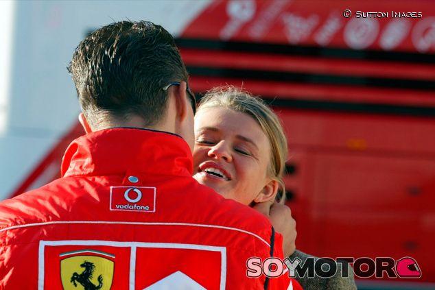 Michael y Corinna Schumacher en Spa-Francorchamps - SoyMotor.com
