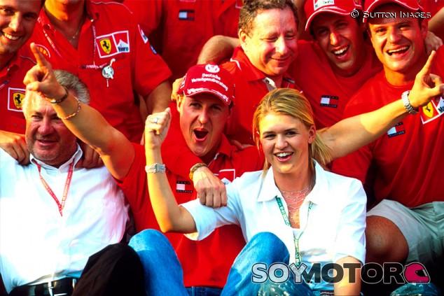 Michael Schumacher y Corinna - SoyMotor.com