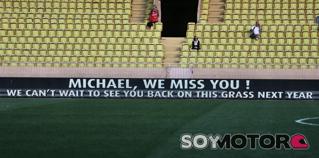 Schumacher, baja muy recordada en el partido de las estrellas