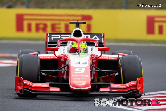 Mick Schumacher logra en Hungría su primera victoria en F2 - SoyMotor.com
