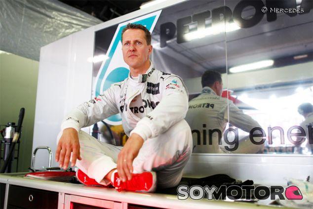 Michael Schumacher en 2012, su última temporada en la Fórmula 1 - LaF1