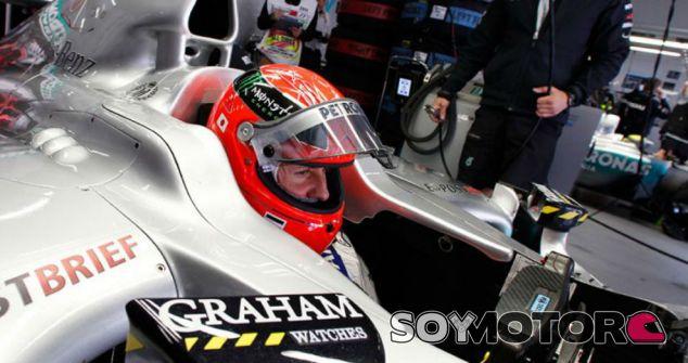 Schumacher, durante su etapa como piloto en Mercedes - SoyMotor