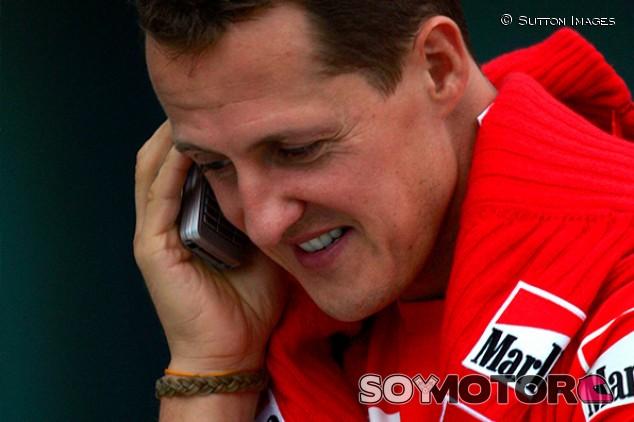 Michael Schumacher en Shanghái - SoyMotor.com