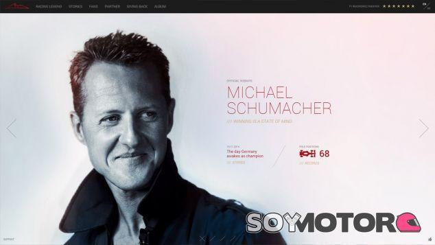 Página web de Michael Schumacher - LaF1