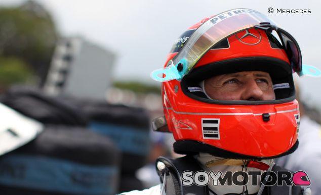 Michael Schumacher en 2011