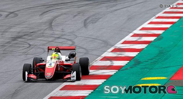 Mick Schumacher en el Red Bull Ring –SoyMotor.com
