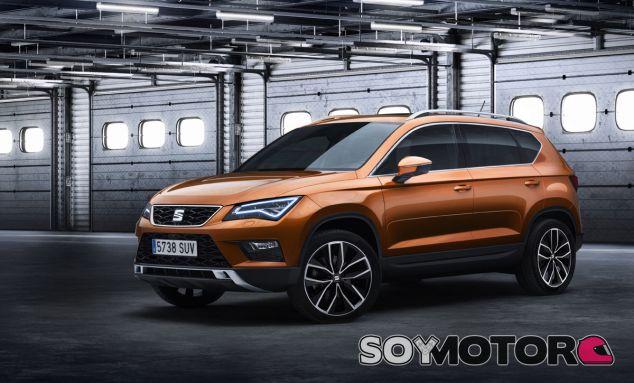 El Sat Ateca no pierde los rasgos de diseño habituales de la marca - SoyMotor