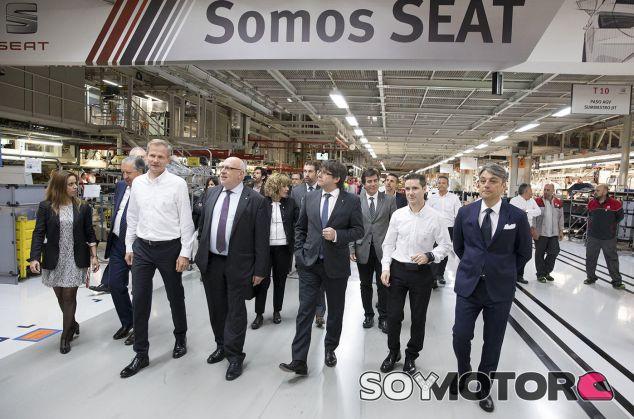 Seat cambiará su sede social en caso de inseguridad jurídica en Cataluña - SoyMotor.com
