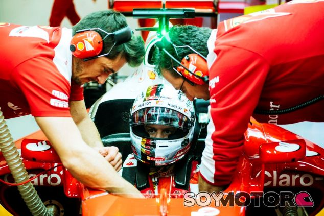 Sebastian Vettel está muy satisfecho con el debut del SF16-H - LaF1