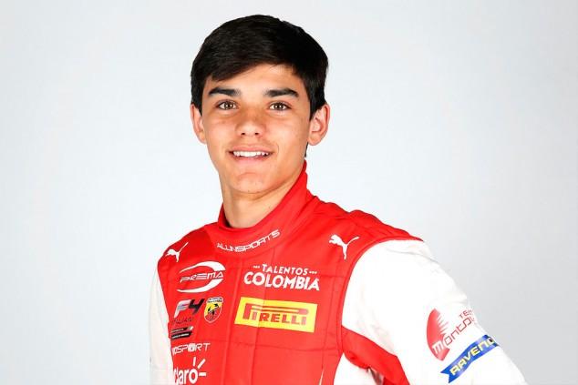 Sebastián Montoya debuta en monoplazas en la Fórmula 4 italiana - SoyMotor.com