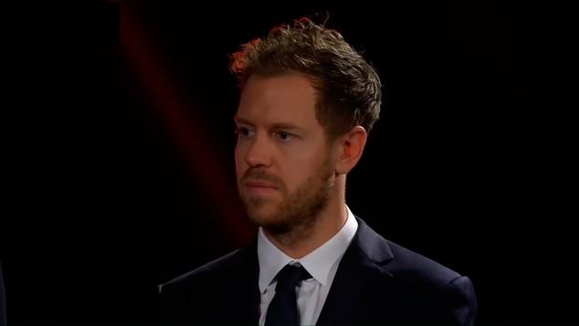 Sebastian Vettel en la presentación de Ferrari - SoyMotor