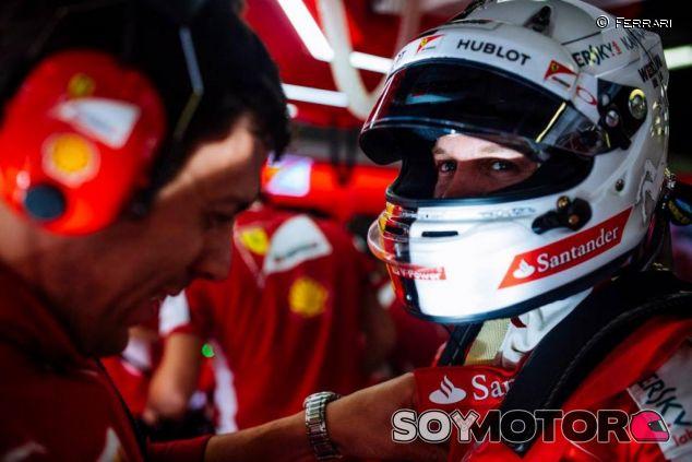 Sebastian Vettel en Barcelona - LaF1.es