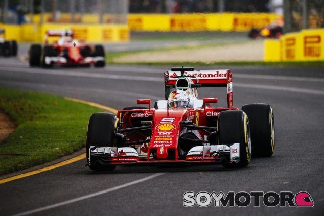 Vettel por delante de Räikkönen en clasificación - LaF1