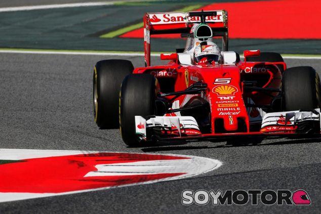 Sebastian Vettel es optimista de cara a mañana - LaF1