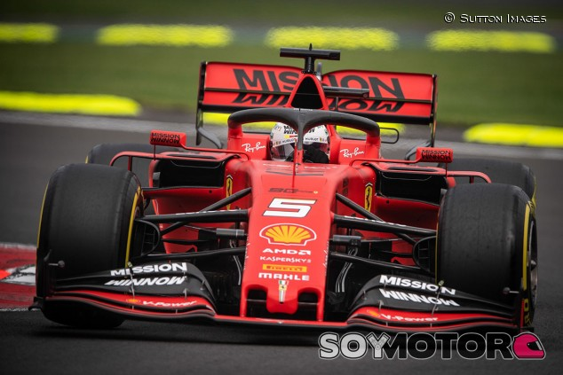 Sebastian Vettel en los Libres del GP de México F1 2019 - SoyMotor.com