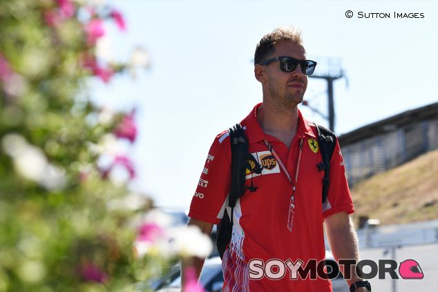 Sebastian Vettel en Hockenheim - SoyMotor.com
