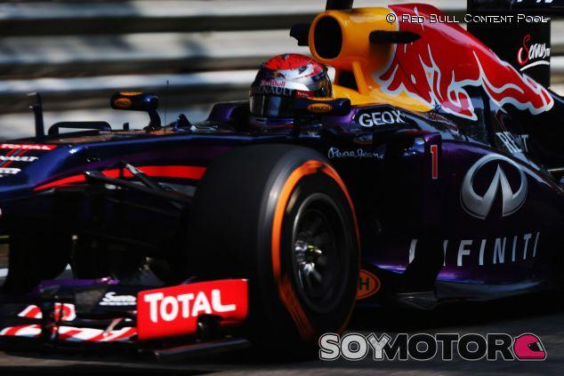 Sebastian Vettel durante los Libres del Gran Premio de Italia - LaF1