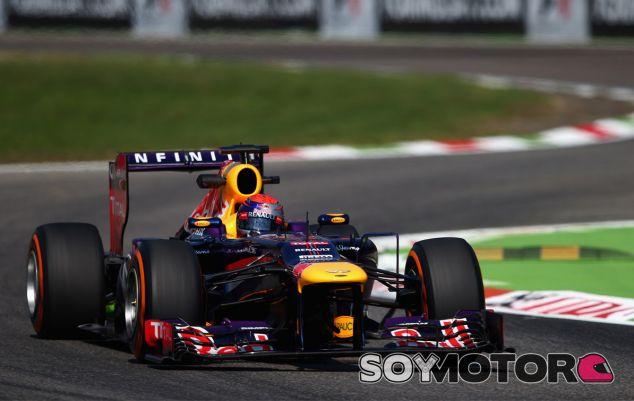 Sebastian Vettel en Italia