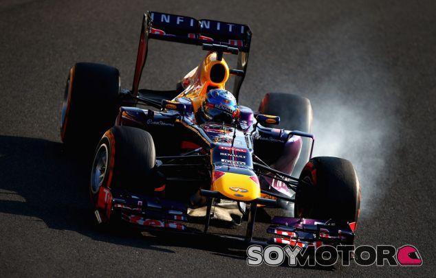 Sebastian Vettel durante el Gran Premio de Japón - LaF1