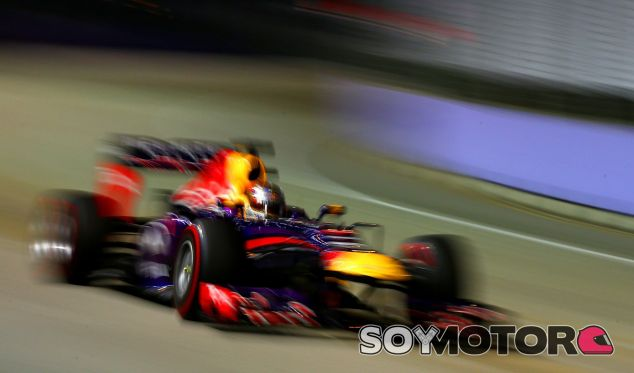 Sebastian Vettel, ganador del GP de Singapur - LaF1