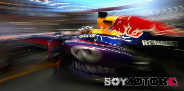 Sebastian Vettel en el GP de Singapur F1 2013 - LaF1