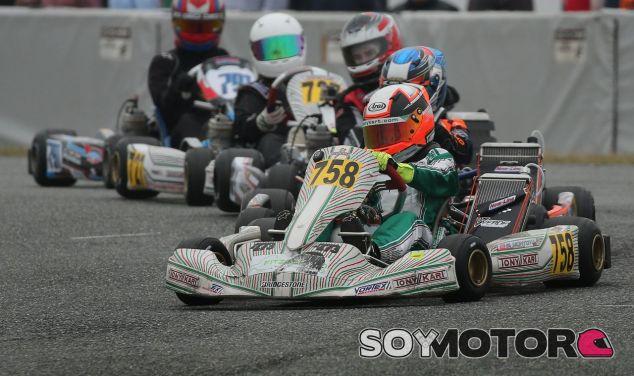 Sebastián Montoya en su Tony Kart – SoyMotor.com