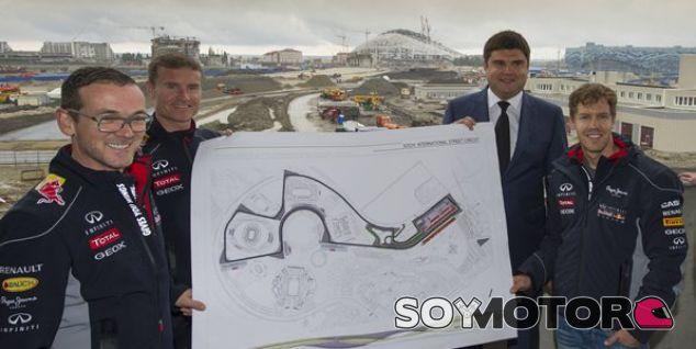 Whiting inspecciona el circuito de Sochi