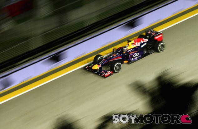 Sebastian Vettel durante el polémico Gran Premio de Singapur - LaF1