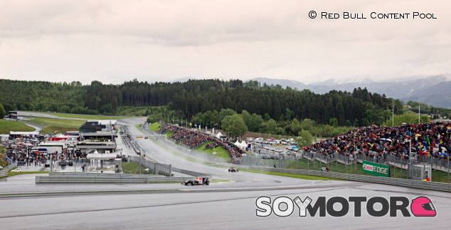 Inauguración del Red Bull Ring, en 2011 - LaF1