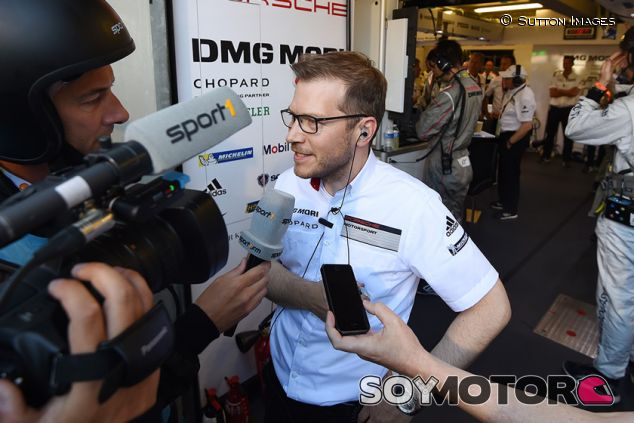 Andreas Seidl en Le Mans - SoyMotor.com