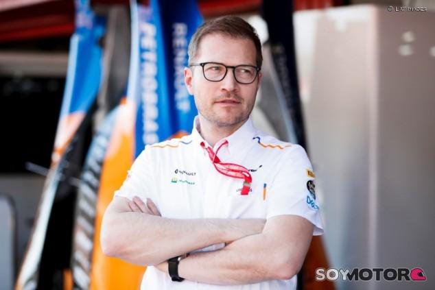 Andreas Seidl en el GP de España F1 2019 - SoyMotor