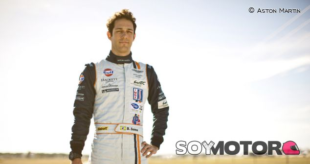 Bruno Senna es piloto oficial Aston Martin en el WEC 2013