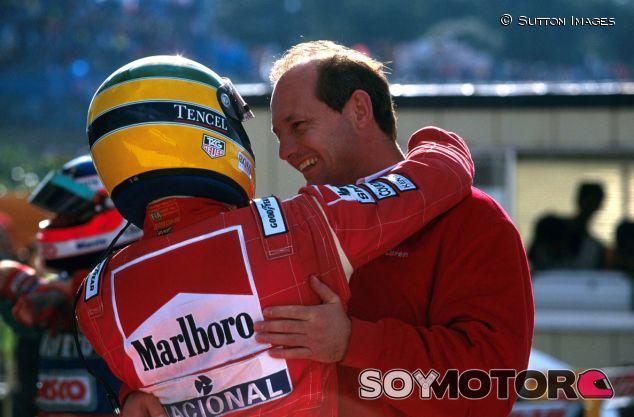Ron Dennis y Ayrton Senna - LaF1