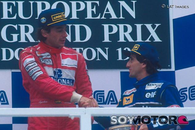Luchas como las de Senna y Prost no se repetirán, según Vettel - SoyMotor.com
