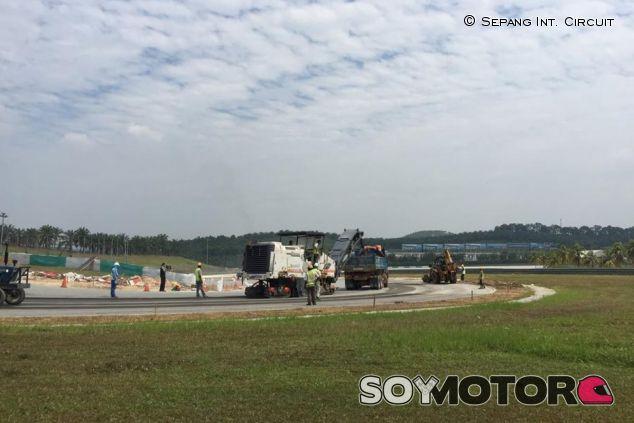 Obras en el circuito de Sepang - LaF1