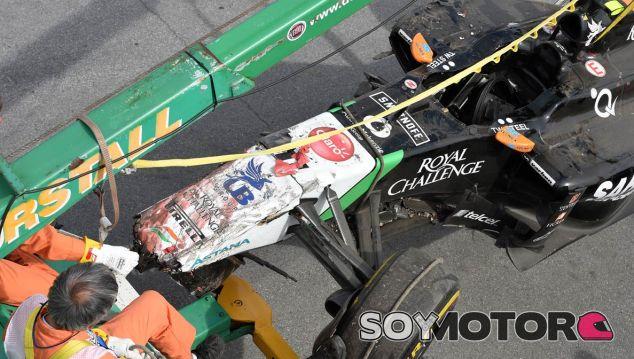 Sergio Pérez perderá cinco puestos en la parrilla de Austria - LaF1.es