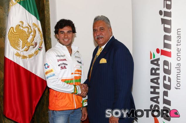 Sergio Pérez ficha por Force India para 2014