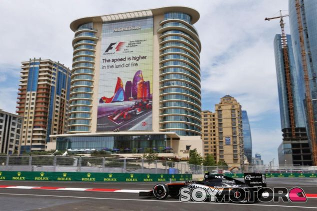 Pérez ha vuelto a impresionar en Bakú - LaF1