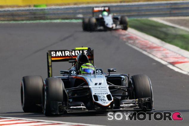 Pérez perdió los puntos en boxes - LaF1