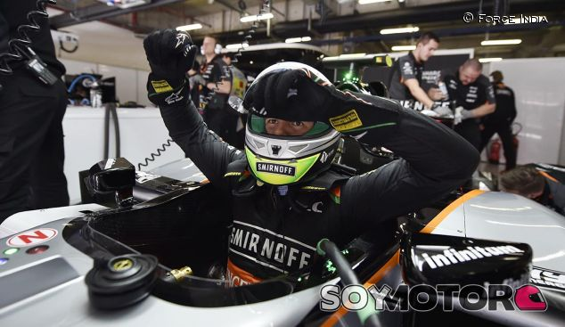 Sergio Pérez en una imagen de archivo del GP de China - LaF1