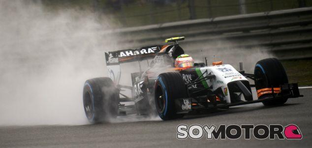Force India en el GP de China F1 2014: Sábado