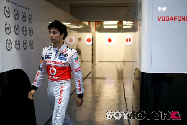 Sergio Pérez se marchará de McLaren al acabar el año - LaF1